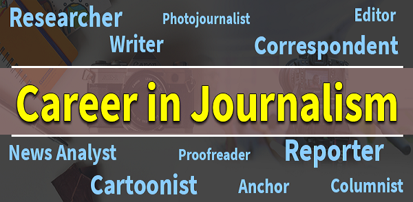 A Career in Journalism