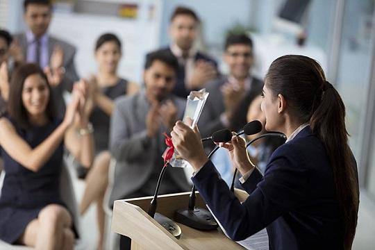 Poor at public speaking weakness
