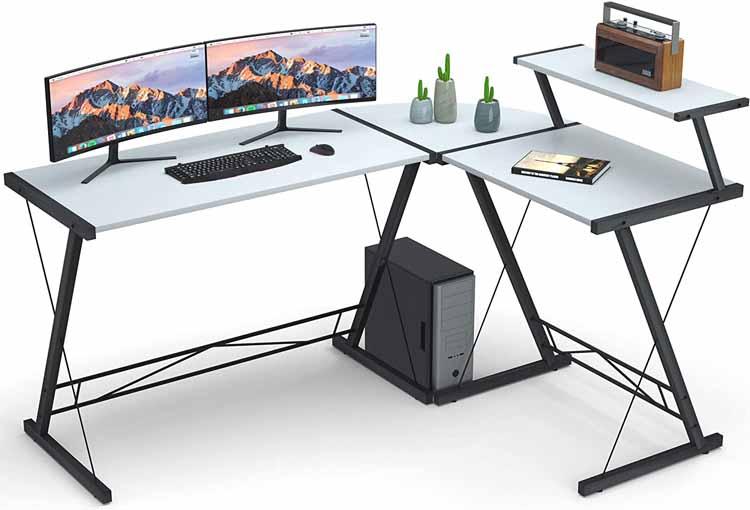 L Shaped Desk for Students